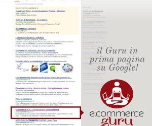 Il Seo fa volare il portale Ecommerce Guru su Google